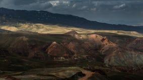 Multi color rock landscape, Turkey Royalty Free Stock Photo