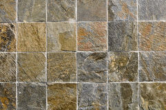 Multi Color Stone Tiles Stock Photo