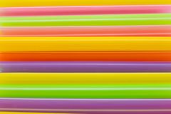 Multi-color of straw Royalty Free Stock Photography
