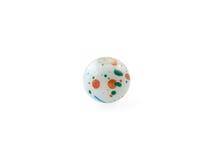 Multi color toned quartz gemstone isolated on white background close up Royalty Free Stock Images