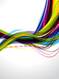 Multi Color Wave background Stock Photos