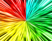 Multi color wave background Royalty Free Stock Image