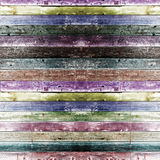 Multi Color wooden room Royalty Free Stock Images