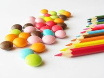 Multi-colored Royalty Free Stock Images