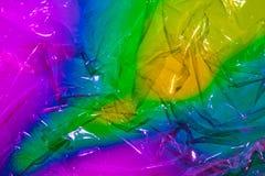 Multi-colored aangestoken abstractieachtergrond stock foto