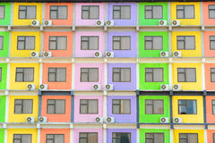 Multi Colored Apartment Stock Photos