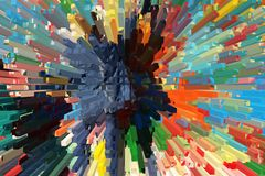 Multi-colored background, beautiful volume abstraction royalty free stock images