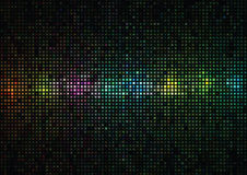 Multi-colored background from squares and circles Royalty Free Stock Images
