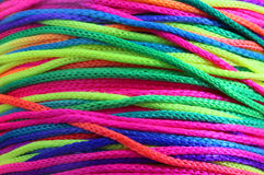 Free Multi-colored Background With String Band Green Red Phosphoresce Royalty Free Stock Images - 87603299