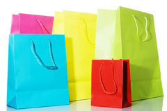 Multi-colored Bags Stock Images
