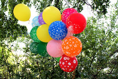 Multi-colored Ballons Royalty-vrije Stock Afbeelding