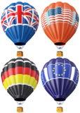 Multi-colored balloon Stock Photo