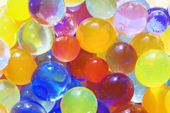 Multi-colored balls Stock Image