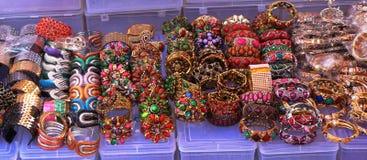 Multi Colored Bangles Stock Image