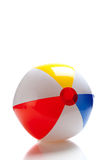 Multi-colored beach ball Royalty Free Stock Photo