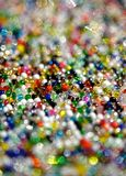 Multi-colored beads Royalty Free Stock Photos