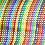 Multi-colored beads Stock Photos