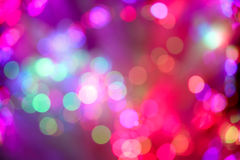 Multi-Colored Bokeh Royalty Free Stock Image