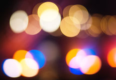 Multi colored bokeh Royalty Free Stock Photos
