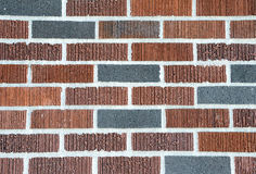 Multi colored brick pattern Royalty Free Stock Photo