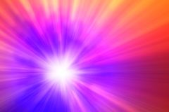 Multi-colored burst abstract background stock image