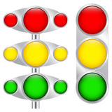Multi-colored buttons Royalty Free Stock Image