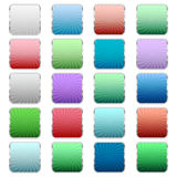 Multi-colored buttons Stock Photography