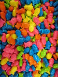 Multi colored candies Royalty Free Stock Photography