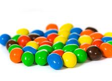 Multi colored candy Stock Images