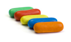 Multi-colored candy Stock Photography