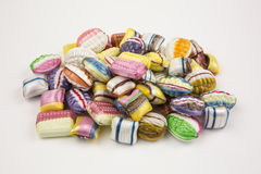 Multi colored candy Royalty Free Stock Photography