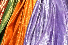 Multi colored canopies Royalty Free Stock Photo