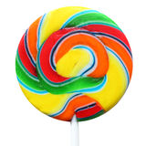 Multi-colored caramel candy Royalty Free Stock Image