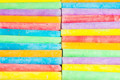 Multi Colored Chalks Stock Image