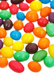 Multi-colored chocolate candy dragees Royalty Free Stock Images