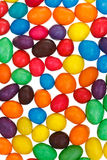 Multi-colored chocolate candy dragees Royalty Free Stock Photos