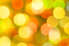 Multi-colored circles and a blurred background royalty free stock photography