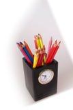 Multi Colored. Clock Stock Image
