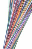 Multi Colored Computer Network Cables Stock Photography