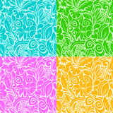 Multi Colored Contours Royalty Free Stock Photo