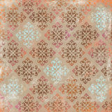 Multi-colored Damask Background Royalty Free Stock Photography