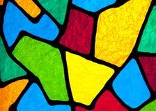 Multi colored designs. Stock Photography