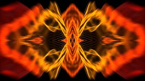 Multi-colored distorted flare shimmering background.