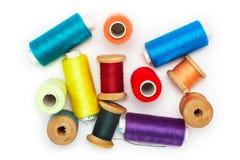 Multi-colored draden royalty-vrije stock afbeeldingen