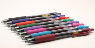 Free Multi Colored Gel Pens Royalty Free Stock Images - 14312369