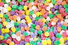 Multi-Colored Gum Drops Royalty Free Stock Photo