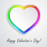 Multi Colored Heart Royalty Free Stock Photo