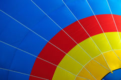 Multi colored hot air balloon Royalty Free Stock Photos