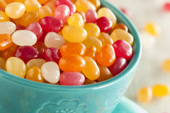Multi Colored Jelly Bean Candy Royalty Free Stock Image