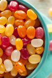 Multi Colored Jelly Bean Candy Stock Photo